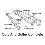 Astrof Concrete Hardware Curb Amp Gutter Rentals